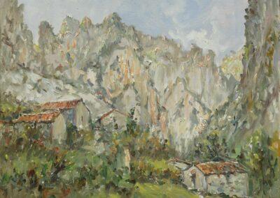 Cabañas de Ovar (Cabrales, Asturias)